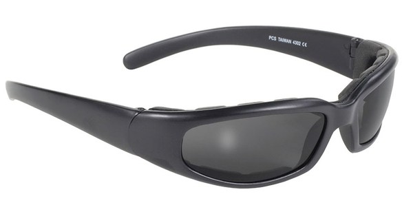 4302 Rally Wrap Padded Blk Frame/Smoke Lens | Sunglasses