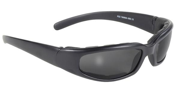 4302 Rally Wrap Padded Blk Frame/Smoke Lens   Sunglasses