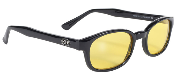 20112 KD's Blk Frame/Yellow Lens | Sunglasses