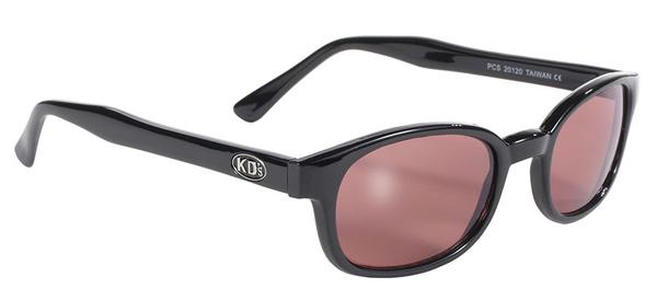20120 KD's Blk Frame/Rose Lens | Sunglasses