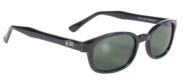 2126 KD's Blk Frame/Dark Green Lens | Sunglasses