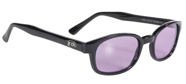 21216 KD's Blk Frame/Purple Lens | Sunglasses