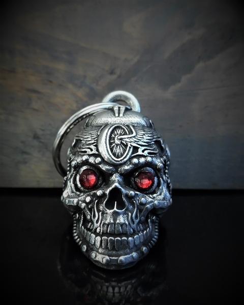 BB-112 Motorhead Skull Bell Diamond | Bravo Bells
