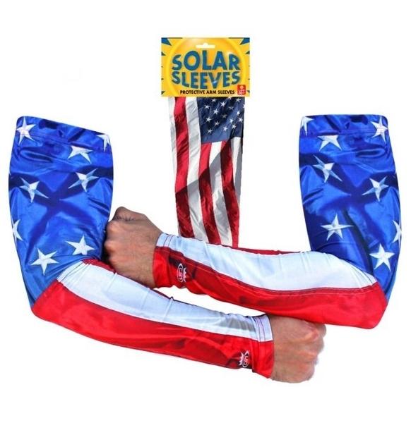 SOLSL4 Solar Sleeve USA Flag | Head/Neck/Sleeve Gear