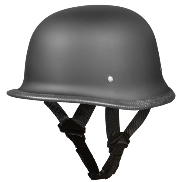 G1-B D.O.T. GERMAN - DULL BLACK | German Helmets