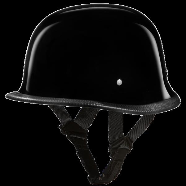 G1-A D.O.T. GERMAN - HI-GLOSS BLACK | German Helmets