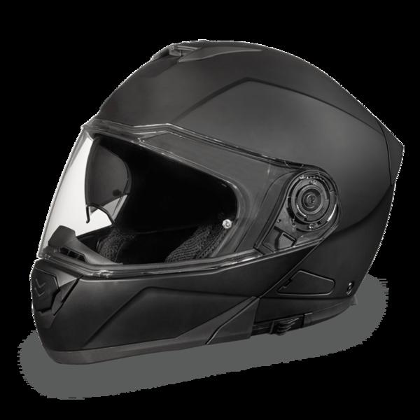 MG1-B D.O.T. DAYTONA GLIDE - DULL BLACK | Modular Helmets