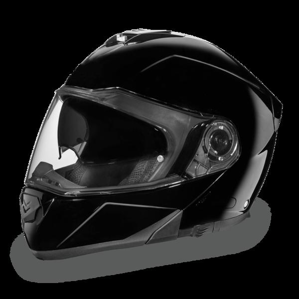 MG1-A D.O.T. DAYTONA GLIDE - HI-GLOSS BLACK | Modular Helmets