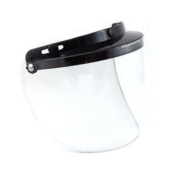 02-205 3 Snap Flip Shield - Hard Coated Clear | Helmet Accessories