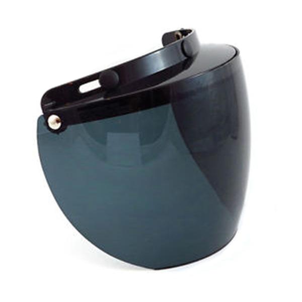 02-201 3 Snap Flip Shield - Hard Coated Smoke | Helmet Accessories