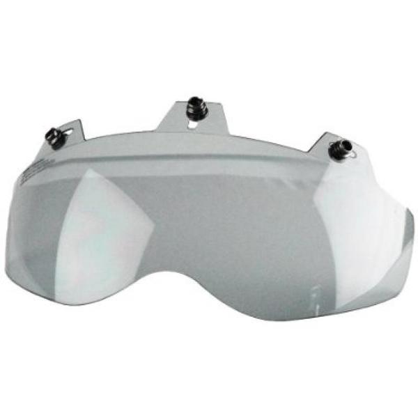 02-301 3 Snap Shorty Shield - Hard Coated Smoke | Helmet Accessories