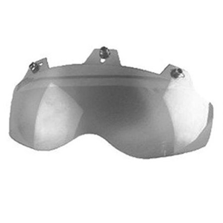 02-311 3 Snap Shorty Shield - Hard Coated Silver Mirror | Helmet Accessories