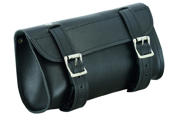 Wholesale Leather Tool Bags   DS5602S Two Strap Tool Bag w/ Studs