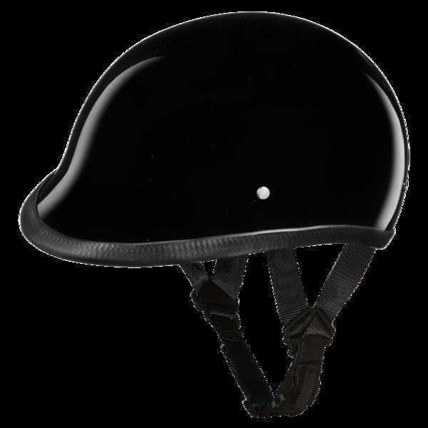 H1-A D.O.T. HAWK: HI-GLOSS BLACK | Polo Style Helmets