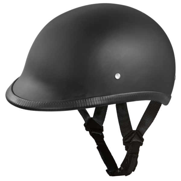 H1-B D.O.T. HAWK: DULL BLACK | Polo Style Helmets
