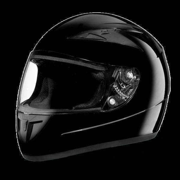 F1-A D.O.T. FULL FACE: DAYTONA SHADOW: HI-GLOSS BLACK | Full Face Helmets