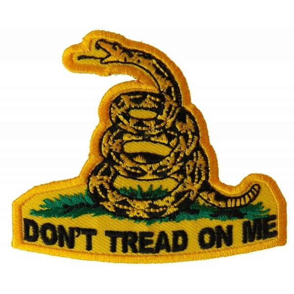 P3111 Don't Tread On Me Small Patch | Patches