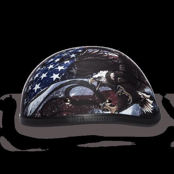6002USA EAGLE- W/ FLAMES USA Non-DOT | Eagle Novelty