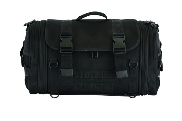 DS379 Modernize Cruising Premium Roll Bag | Sissy Bar Bags