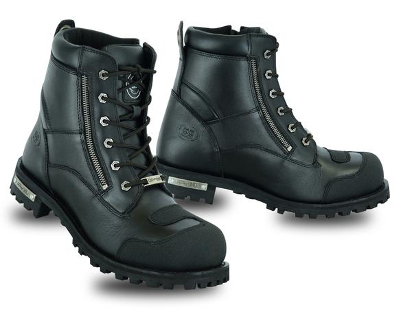 DS9741 Men's Side Zipper Waterproof Ankle Protection Boots | Men's Footwear