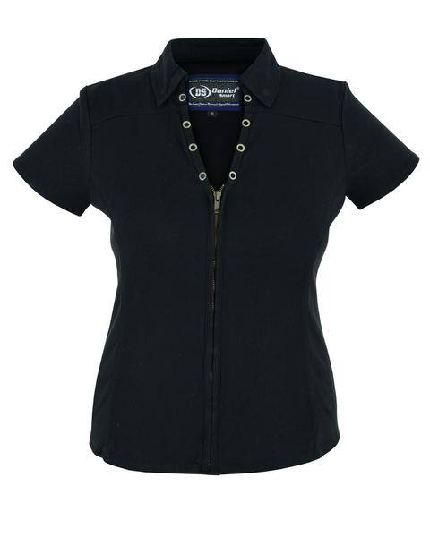DM955 Women's Zip Front Shirt | Women's Shirts