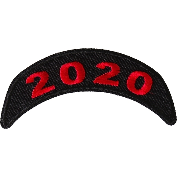 P6712 2020 Upper Red Rocker Patch | Patches