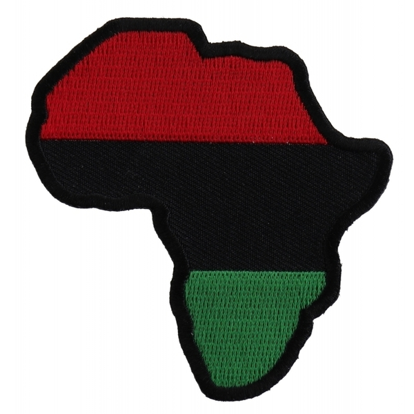 P1527 African Map Patch | Patches