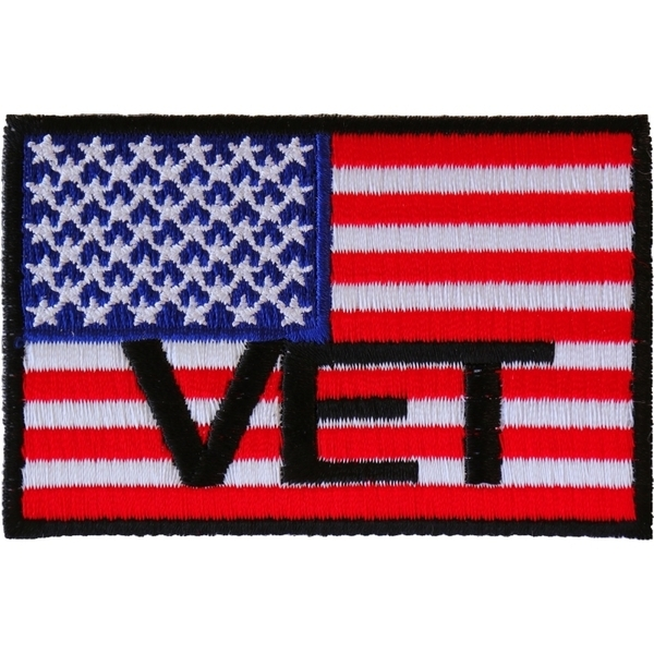 P3143 American Flag Vet Patch | Patches