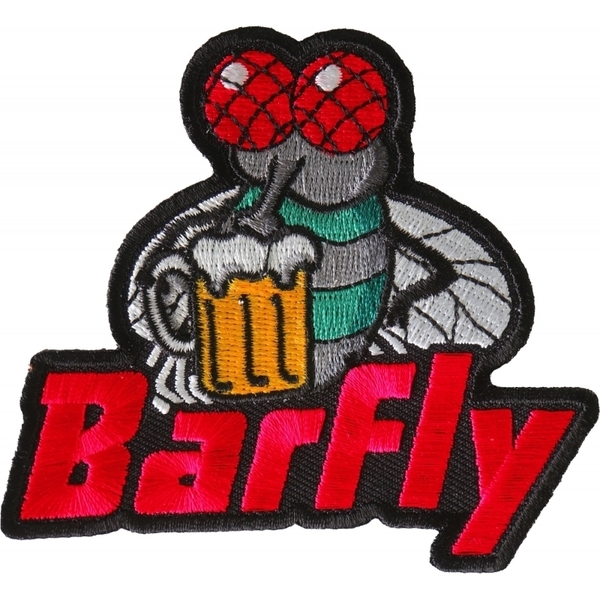 P6709 Barfly Patch | Patches