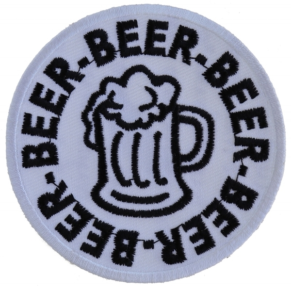 P5459 Beer Beer Beer Patch | Patches
