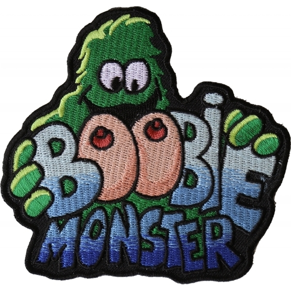 P5942 Boobie Monster Patch | Patches