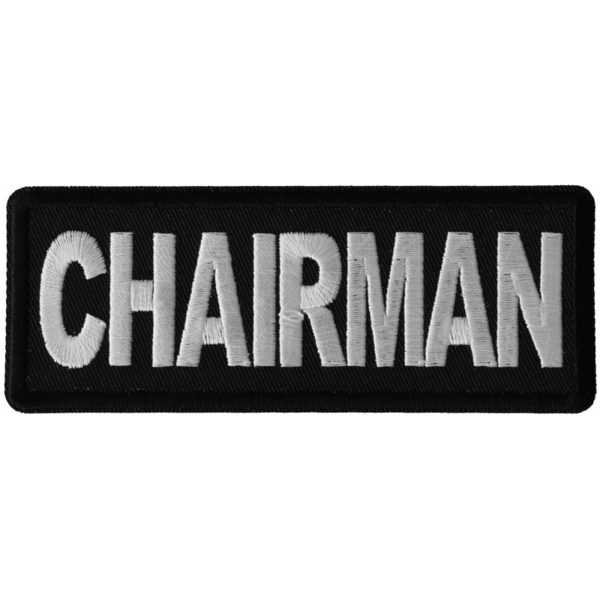 P6283 Chairman Patch | Patches
