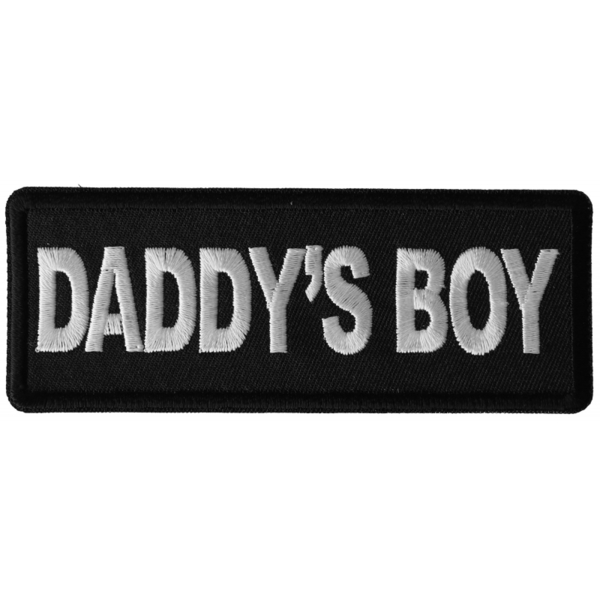 P6312 Daddy's Boy Patch | Patches