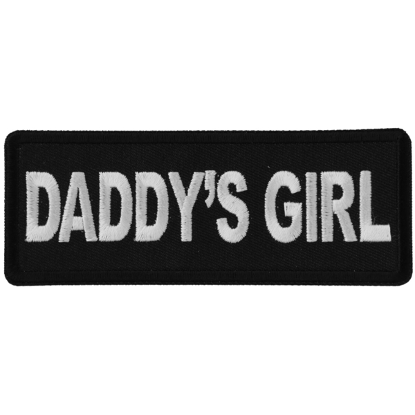 P6309 Daddy's Girl Patch | Patches
