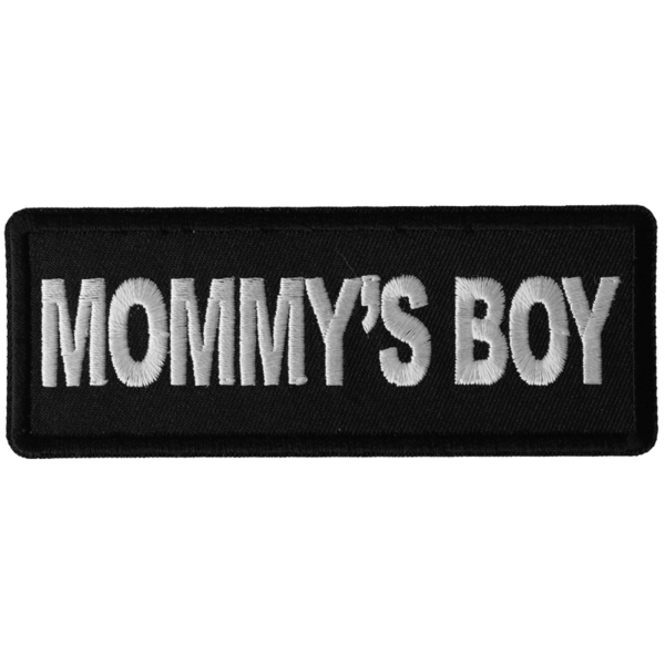 P6310 Mommy's Boy Patch | Patches
