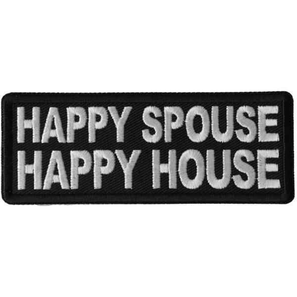 P6695 Happy Spouse Happy House Patch | Patches