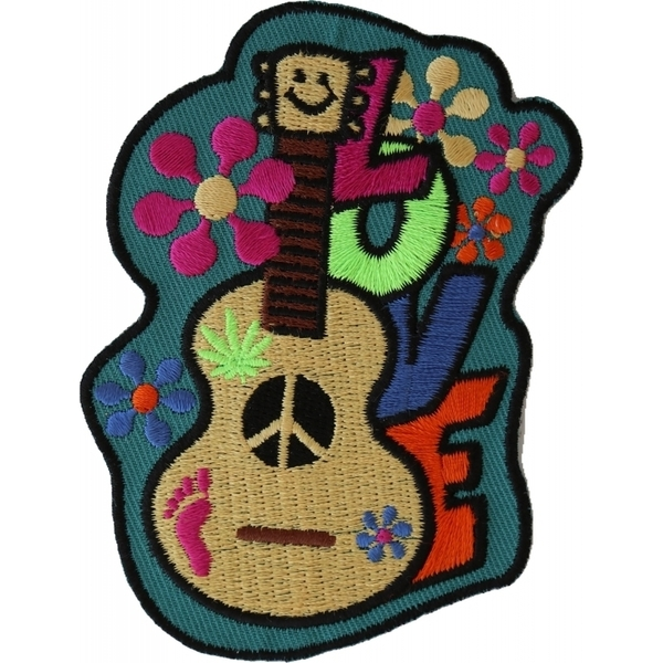 P4920 Love Guitar Cute Patch | Patches