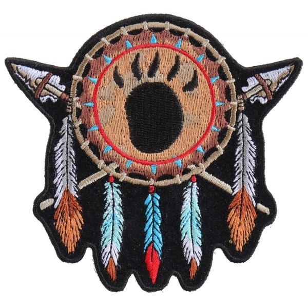 P4964 Native Indian Small Patch Design | Patches