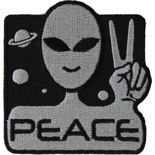 P4912 Peace Alien Fun Patch | Patches
