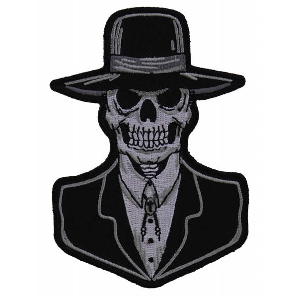 P5982 Preacher Skull Small Patch | Patches