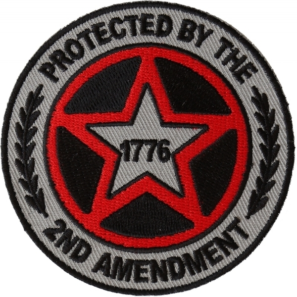 P6569 Protected by The 2nd Amendment 1776 Patch | Patches