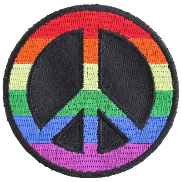 P5451 Rainbow Peace Patch | Patches