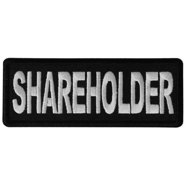 P6272 Shareholder Patch | Patches