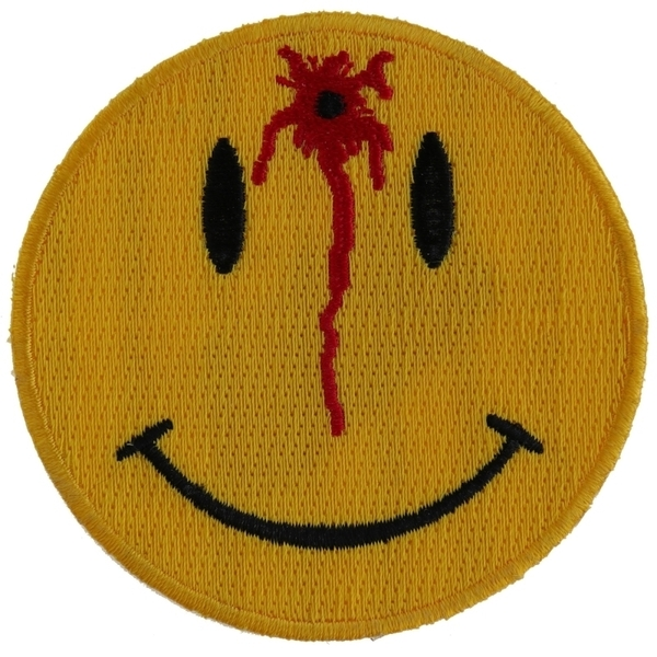 P1526 Shot Smiley Patch | Patches