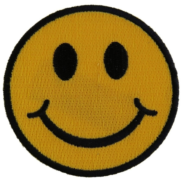 P2761 Smiley Face Patch | Patches