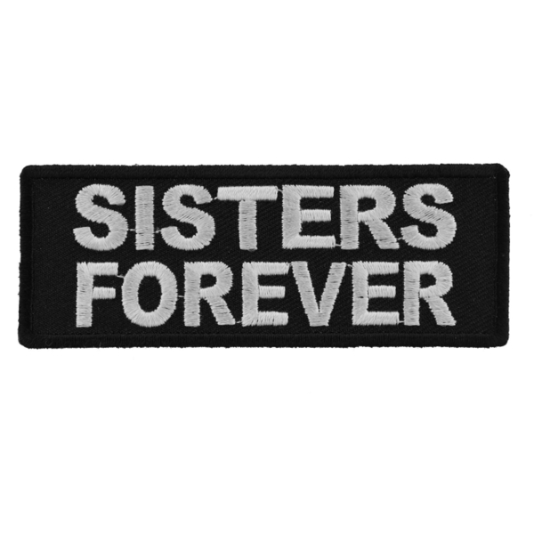 P5337 Sisters Forever Iron on Morale Patch | Patches