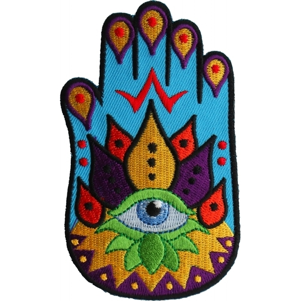 P6730 Spiritual Hand Iron on Patch | Patches