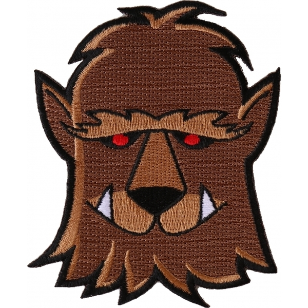 P6551 Wacky Wolf Patch | Patches