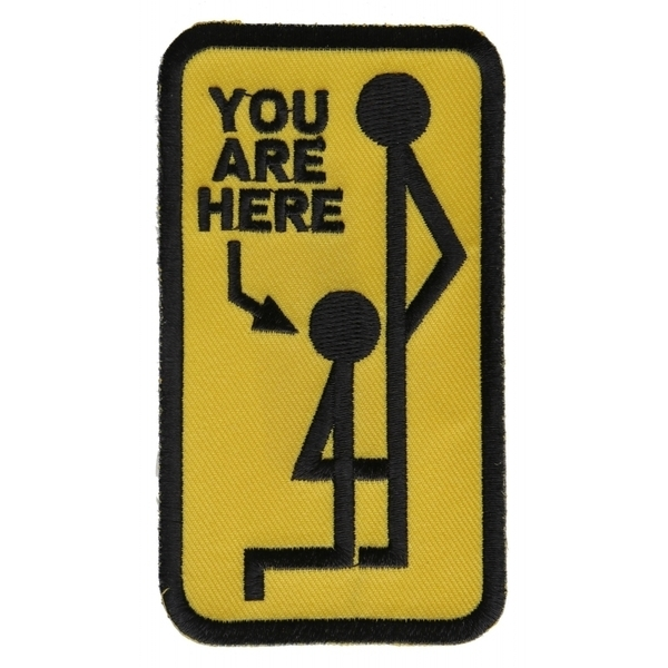 P1272 You Are Here Patch | Patches