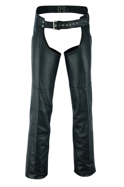 DS447TALL Tall Classic Leather Chaps with Jeans Pockets | Chaps & Pants